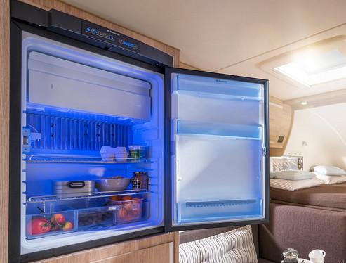 Kylsskåp 90 liters med frysfack (12 V/230 V/gasol)
